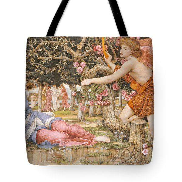 Love And The Maiden Tote Bag by JRS Stanhope