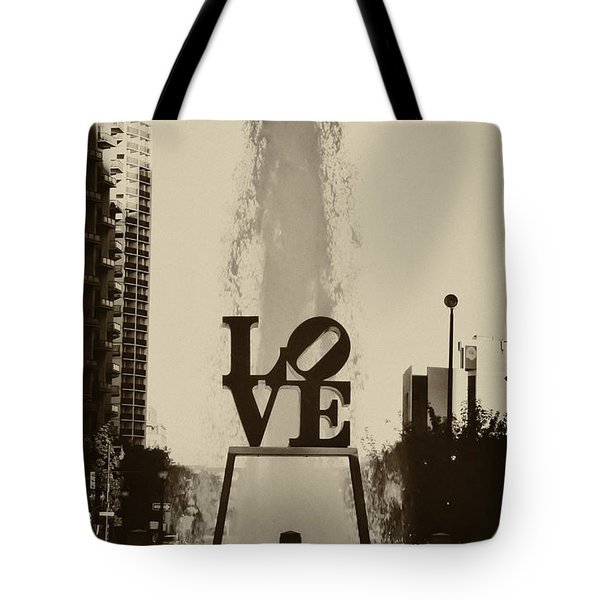 Love Love Love Tote Bag by Bill Cannon
