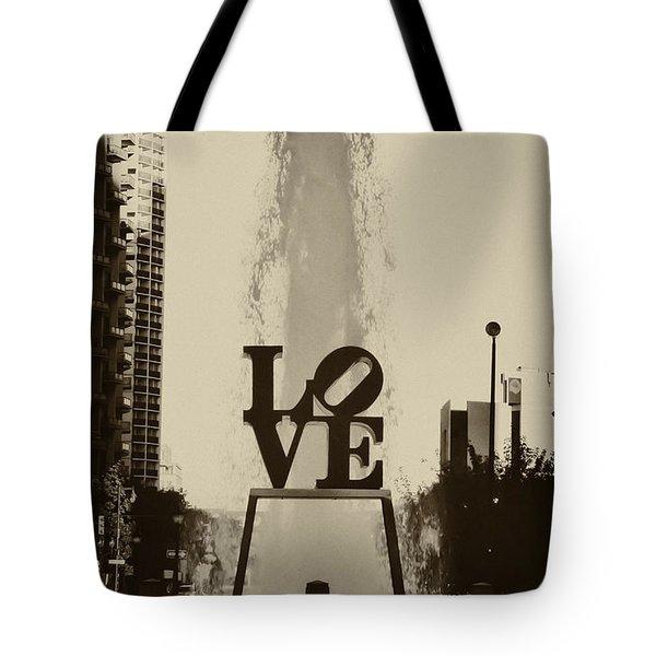 Love Love Love Tote Bag by Bill Cannon
