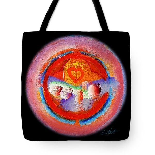 Love Me Or Leave Me Tote Bag by Charles Stuart