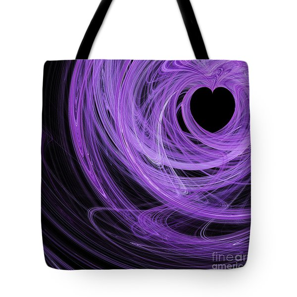 Love Swirls . Square . A120423.689 Tote Bag by Wingsdomain Art and Photography