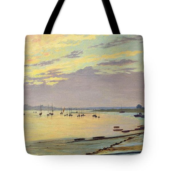 Low Tide Tote Bag by W Savage Cooper