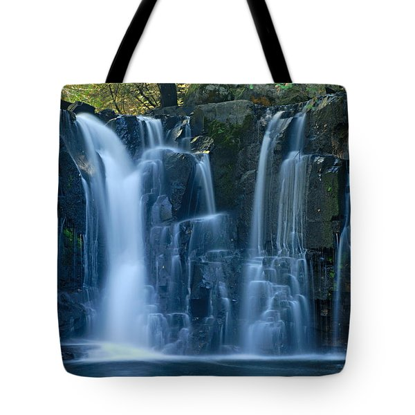 Lower Johnson Falls 2 Tote Bag by Larry Ricker