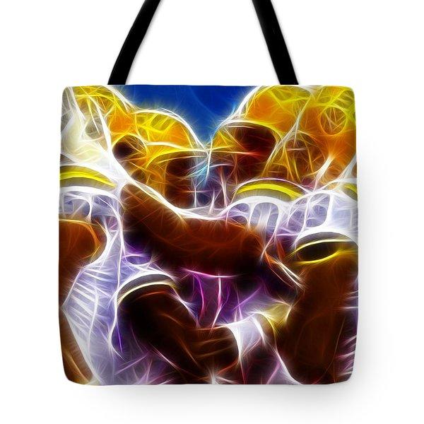 LSU Magical Tote Bag by Paul Van Scott