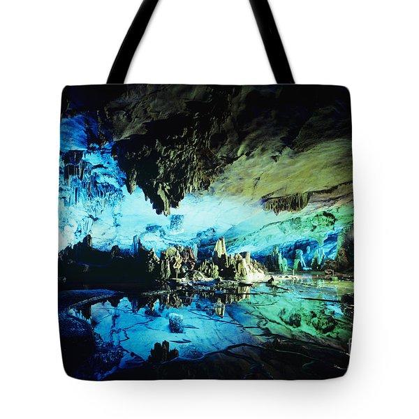 Lu Di Cave Tote Bag by Rita Ariyoshi - Printscapes