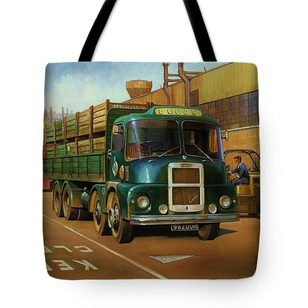 Lucas Scammell Routeman I Tote Bag by Mike  Jeffries