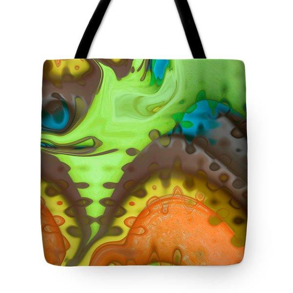 Lucid Dreaming Tote Bag by Linda Sannuti