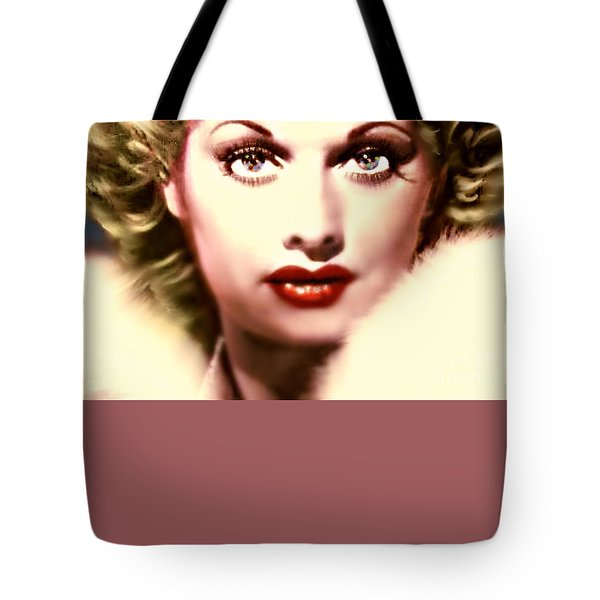 Lucille Golden Years Tote Bag by WBK
