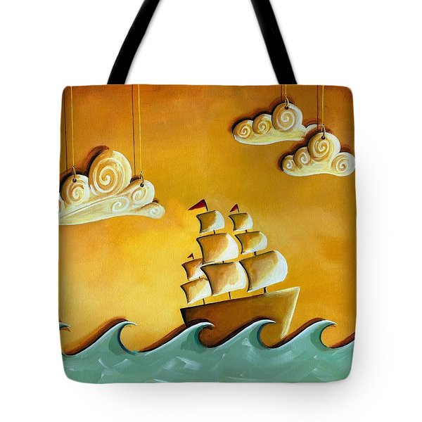 Lullaby Bay Tote Bag by Cindy Thornton