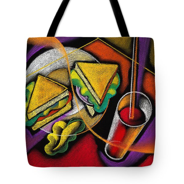 Lunch Tote Bag by Leon Zernitsky