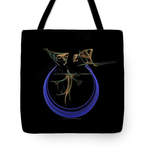 Lunch Time Tote Bag by Viktor Savchenko