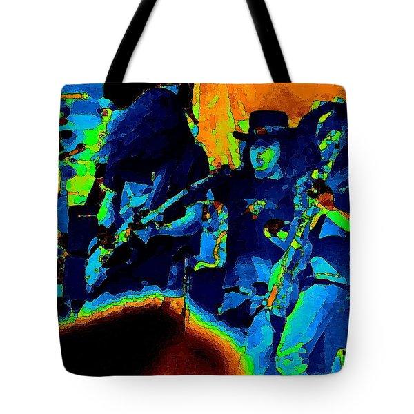 Lynyrd Skynyrd Pastel Oakland 2 Tote Bag by Ben Upham
