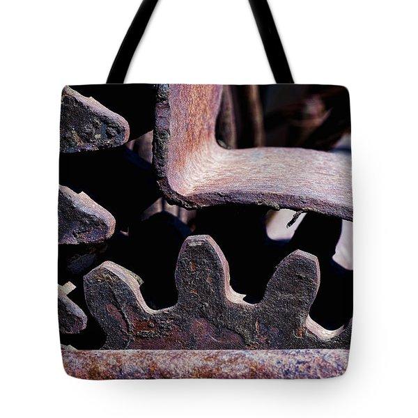 Machinery Tote Bag by Kelley King