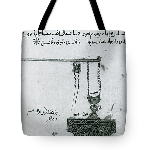 Machinery Of War, Trebuchet, 12th Tote Bag by Photo Researchers