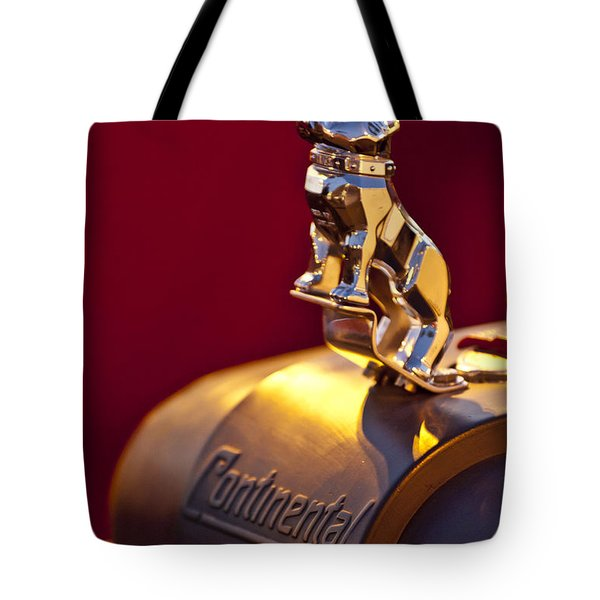 Mack Truck Hood Ornament Tote Bag by Jill Reger