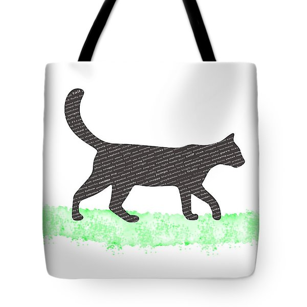 Mad About Cats Tote Bag by Shivonne Ross