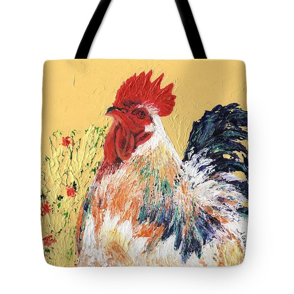 Mad Max With Poppies Tote Bag by Laura Gabel