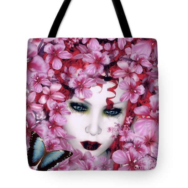 Madame Butterfly Tote Bag by Shanina Conway