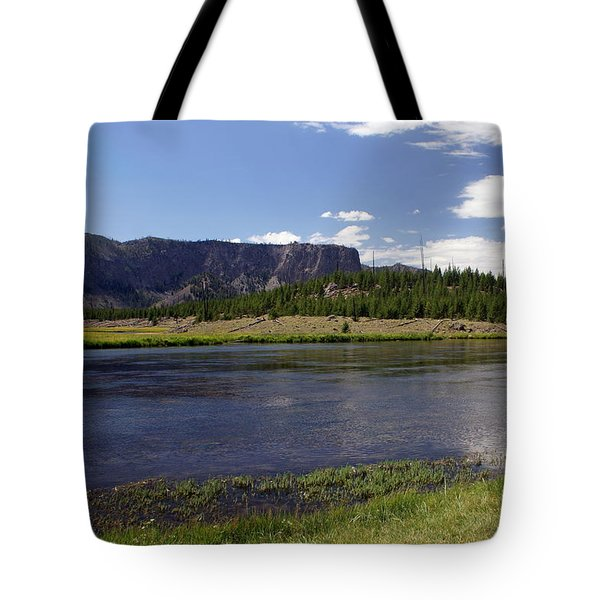 Madison River Valley Tote Bag by Marty Koch