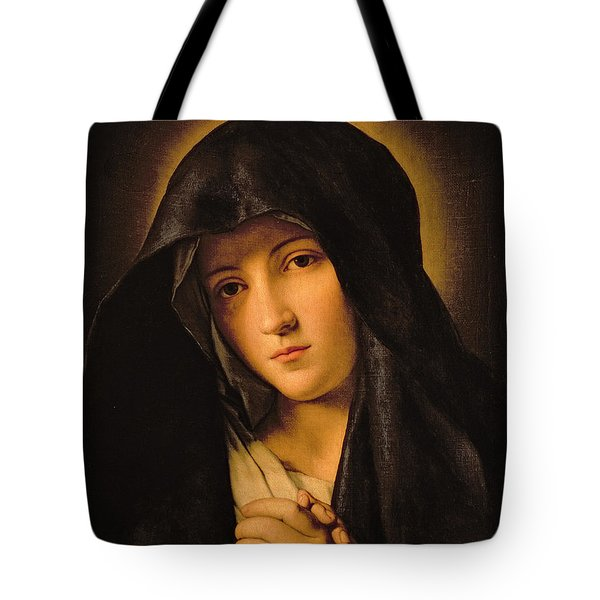 Madonna Tote Bag by Il Sassoferrato