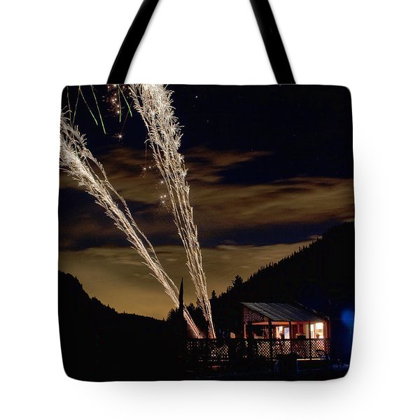 Magic Mountain Tote Bag by James BO  Insogna