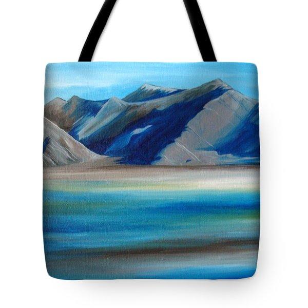 Magic Mountains Tote Bag by Ramneek Narang