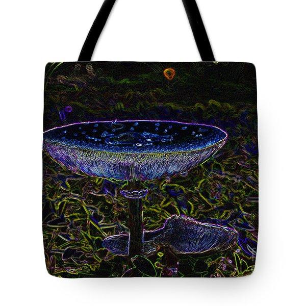 Magic Mushroom Tote Bag by David Lee Thompson