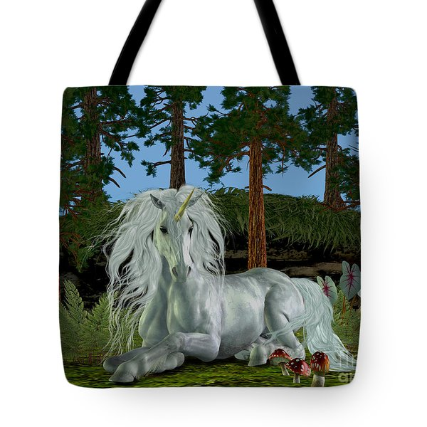Magic Woodland Tote Bag by Corey Ford