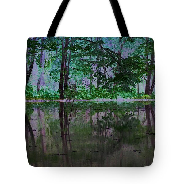Magical Forest Tote Bag by Karol Livote