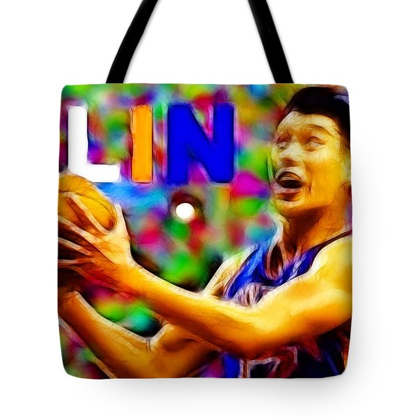 Magical Jeremy Lin Tote Bag by Paul Van Scott