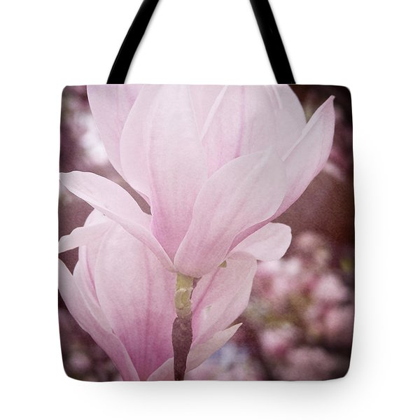 Magnolia Tote Bag by Angela Doelling AD DESIGN Photo and PhotoArt