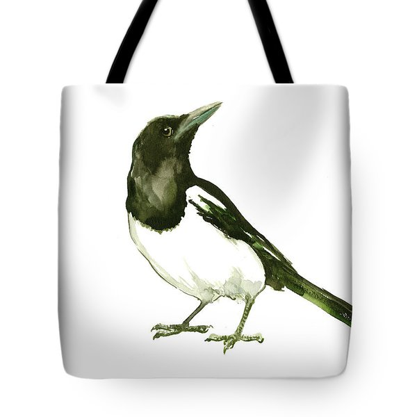 Magpie Tote Bag by Suren Nersisyan