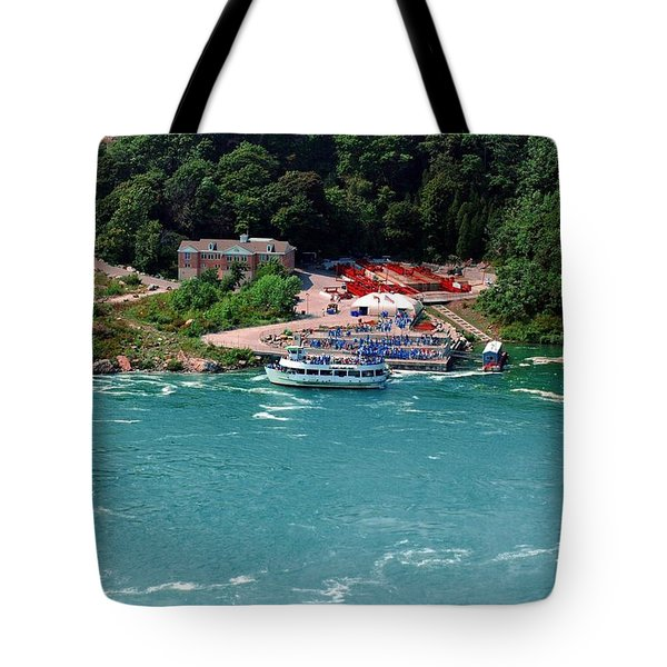 Maid Of The Mist Tote Bag by Kathleen Struckle