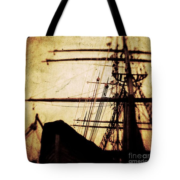 Maiden Voyage Tote Bag by Andrew Paranavitana