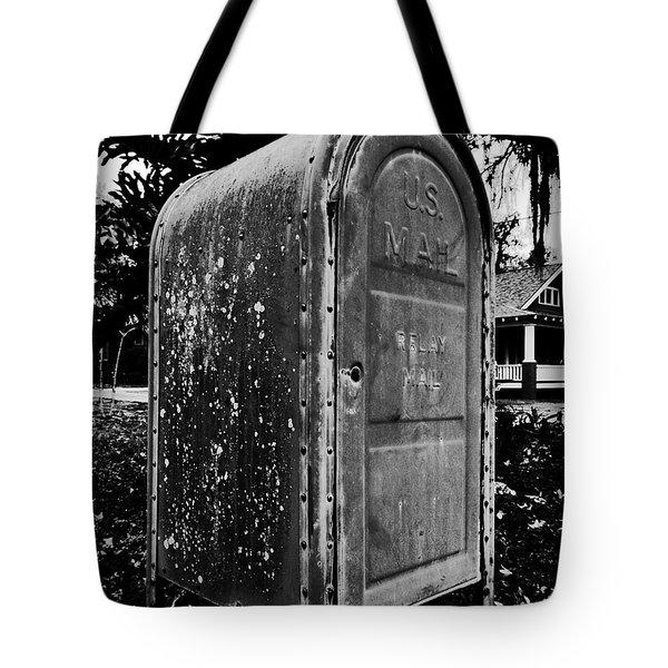 Mail Box Tote Bag by David Lee Thompson