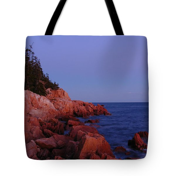 Maine Acadia Np Tote Bag by Juergen Roth