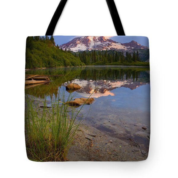 Majestic Glow Tote Bag by Mike  Dawson