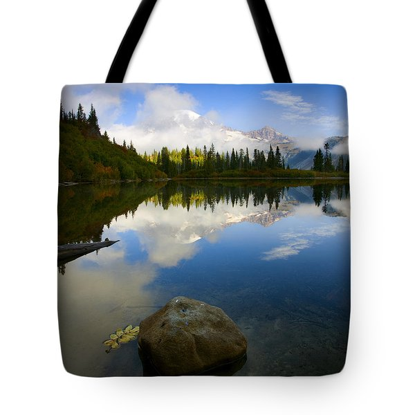 Majesty Revealed Tote Bag by Mike  Dawson