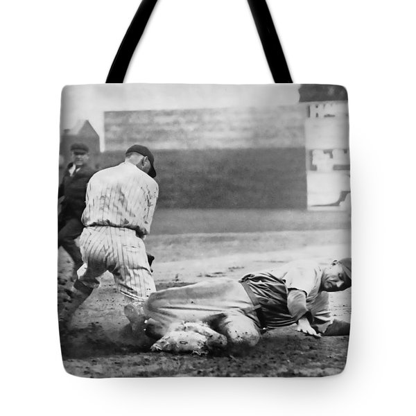 Making The Play C. 1920 Tote Bag by Daniel Hagerman