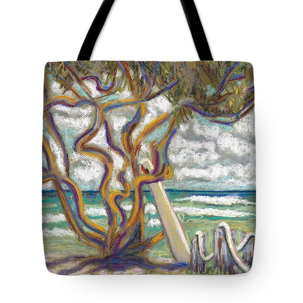 Malaekahana Tree Tote Bag by Patti Bruce - Printscapes