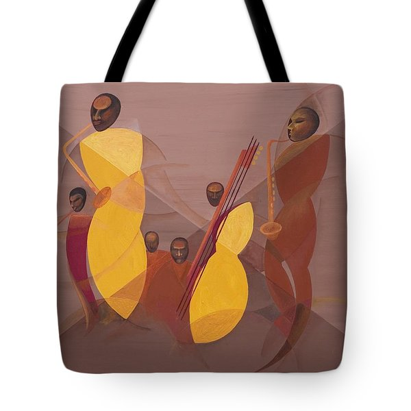 Mango Jazz Tote Bag by Kaaria Mucherera