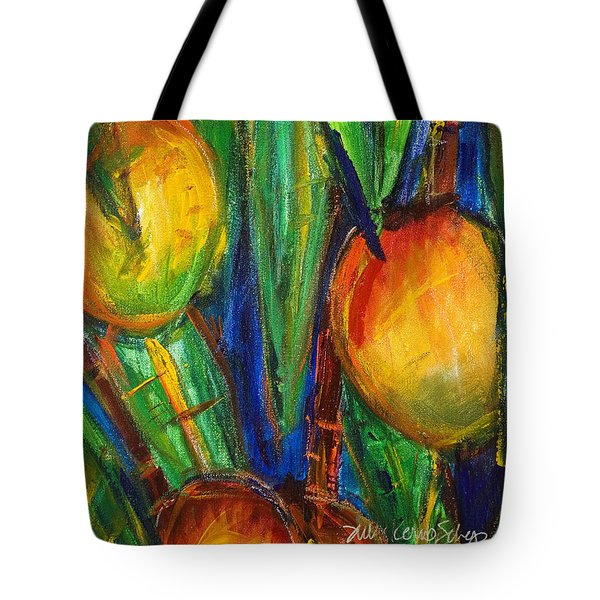 Mango Tree Tote Bag by Julie Kerns Schaper - Printscapes