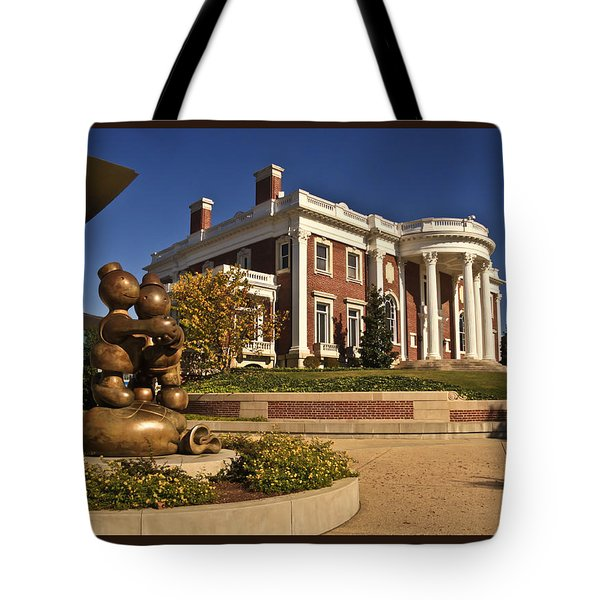 Mansion Hunter Museum Tote Bag by Tom and Pat Cory