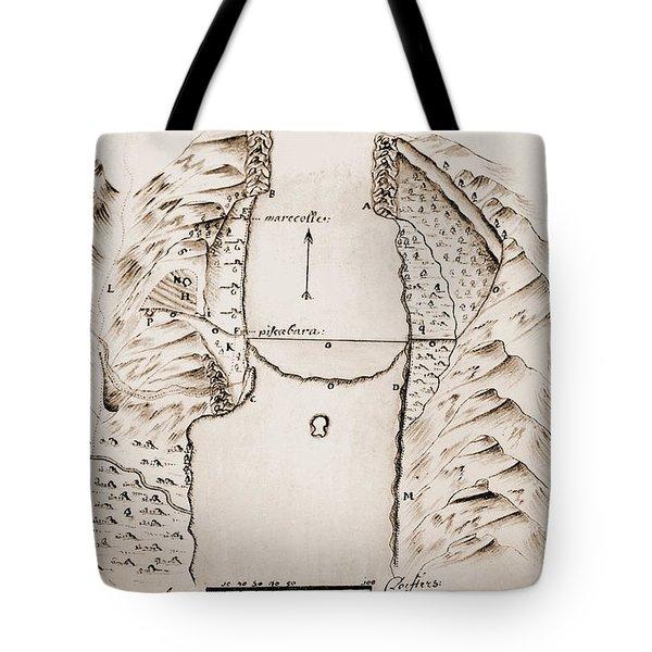 Map: Danube Tote Bag by Granger