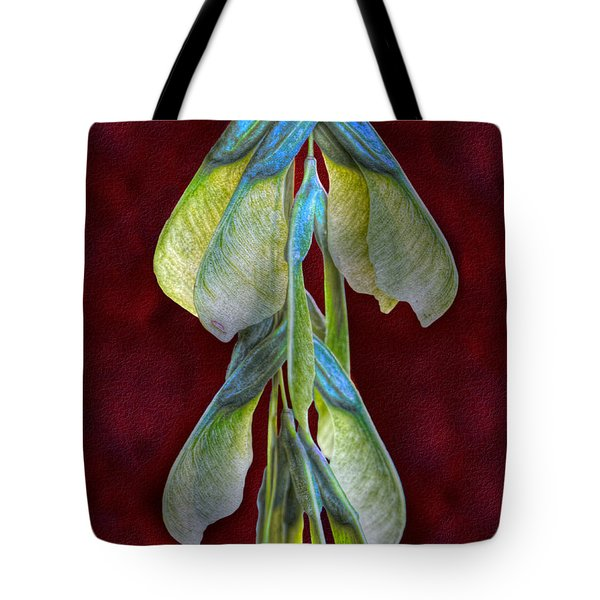Maple Seeds Tote Bag by Tom Mc Nemar