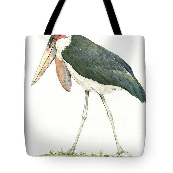 Marabou Tote Bag by Juan Bosco