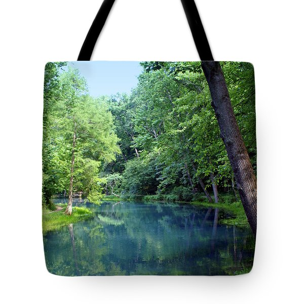 Maramec Springs 2 Tote Bag by Marty Koch