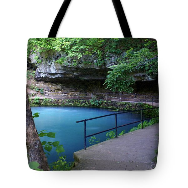 Maramec Springs 3 Tote Bag by Marty Koch