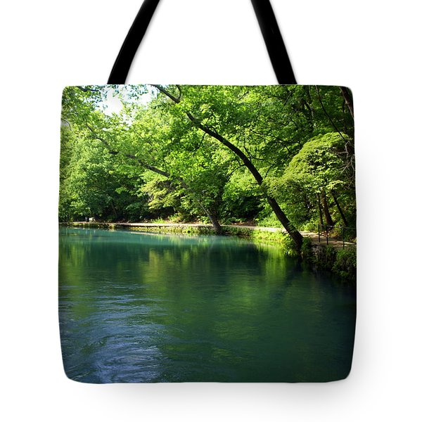 Maramec Springs 4 Tote Bag by Marty Koch