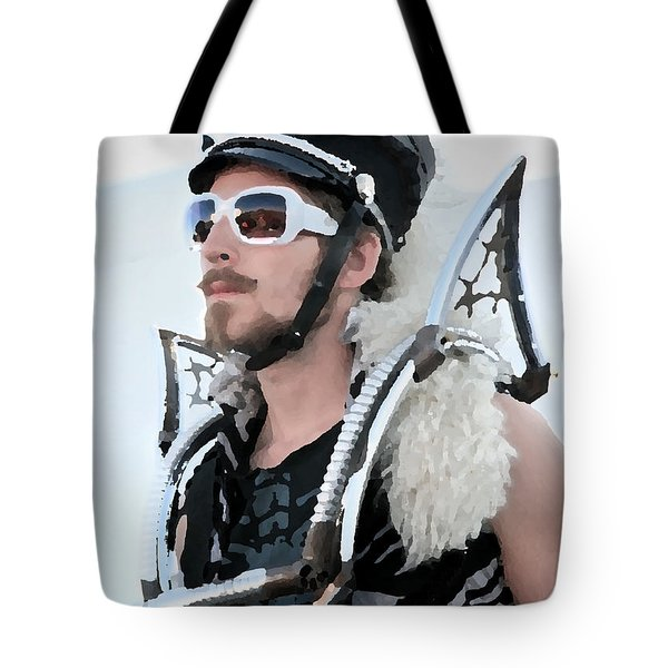 March Fourth Marching Band Tote Bag by Chris Dutton
